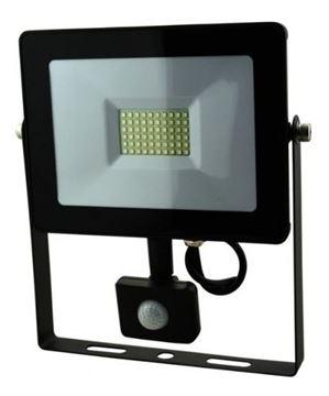 Imagen de Foco Reflector Led 20w C/sensor Movimiento Ip65 - Ynter