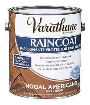 Imagen de Impregnante Va Raincoat Nogal Americano 3,78 L Rust Oleum-Ynter Industrial