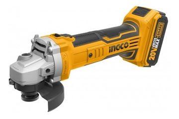 Imagen de Amoladora  20v  Ingco con batería y cargador - Ynter Industrial