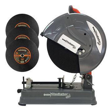 Imagen de Sierra Sensitiva Gladiator 2200w 355mm C/discos - Ynter Ind