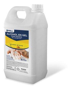 Imagen de Bidon 5 Lts De Alcohol En Gel Antiseptico - Ynter Industrial