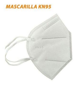 Imagen de Máscara Mascarilla Proteccion Kn95 Pack 5 Unidades - Ynter
