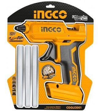 Imagen de Pistola de silicona caliente Ingco a batería 20v - Ynter Industrial