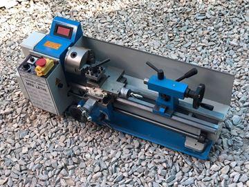 Imagen de Torno De Banco Para Metales 300mm | Ynter Industrial