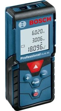 Imagen de Medidor a distancia láser Bosch GLM40 40mts + funda - Ynter Industrial