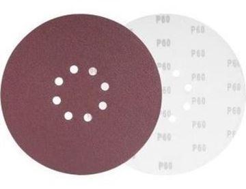 Imagen de Disco Lija 180mm P/lijadora Velcro X10un - Ynter Industrial