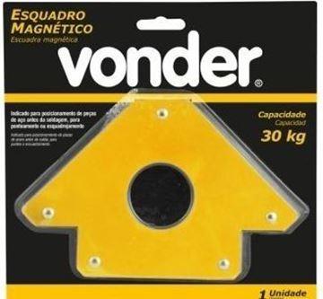 Imagen de Escuadra Magnetica 30kg Vonder - Ynter Industrial