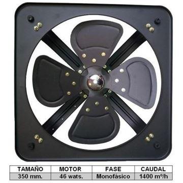 Imagen de Extractor Ind. 350 Mm Monof Fad35-4-ynter