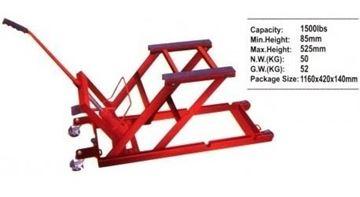 Imagen de Banco Elevador P/motos/autos 600 Kg - Ynter Industrial