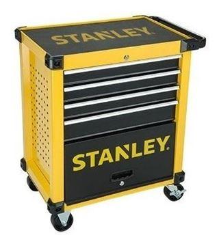 Imagen de Gabinete Metal Rodante Stanley 4 Gavetas 1 Puerta- Ynter