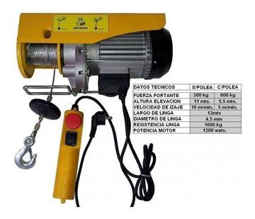 Imagen de Aparejo Electrico 0600kg 6mts - Ynter Industrial