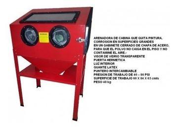 Imagen de Arenadora De Gabinete M30795- Ynter Industrial