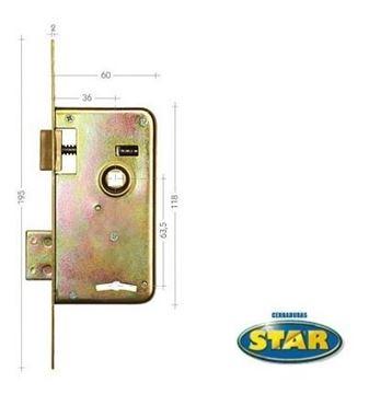 Imagen de Cerradura Star 30s Original- Ynter Industrial
