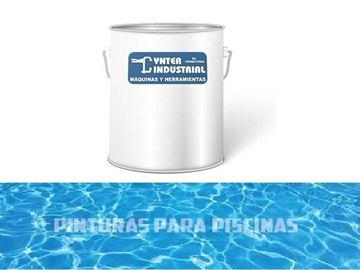 Imagen de Pintura para piscina al agua 4 Lt- Ynter Industrial