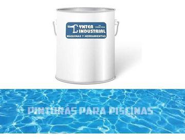 Imagen de Pintura Para Piscina Caucho Clorado 4 Lts- Ynter Industrial