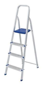 Imagen de Escalera 4 Escalones De Aluminio- Ynter Industrial