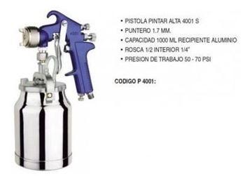 Imagen de Pistola De Pintar Alta P4001 Ynter Industrial