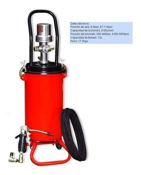 Imagen de Bomba De Engrase Inyector Neumática 12lts - Ynter Industrial