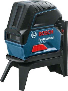 Imagen de Nivel láser Bosch + soporte + maletín GCL2-15- Ynter Industrial