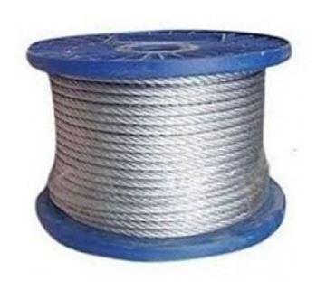 Imagen de Linga Cable De Acero Galvanizado 2mm 5/64pLG X200mt -ynter