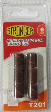 Imagen de Mini Bandas De Lija Grano 120 6unidades - Ynter Industrial