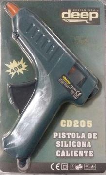 Imagen de Pistola De Silicona Caliente Deep Cd205 - Ynter Industrial.