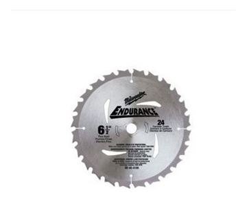 """Imagen de Hoja  sierra circular 6 1/2"""" p/madera 24d  Milwaukee 4840"""
