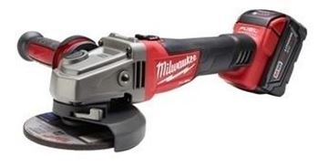 Imagen de Amoladora 5pLG (125mm) Fuel 18v C/bat 4ah Y Carg Milwaukee