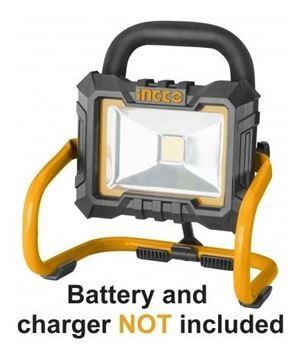 Imagen de Foco lampara batería 20v Ingco - Ynter Industrial