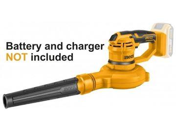 Imagen de Sopladora aspiradora a bat 20v Ingco  - Ynter Infustrial