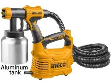 Imagen de Equipo de pintar tacho aluminio Ingco 500w - Ynter Industrial