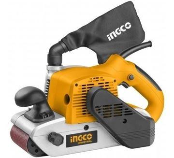 Imagen de Lijadora De Banda Industrial 1200w 610x100mm Ingco Pbs12001