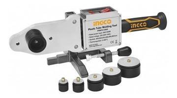 Imagen de Termofusora industrial Ingco 800-1500w 6 boquillas c/valija metal 300° - Ynter