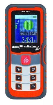 Imagen de Medidor de distancias láser Gladiator Pro 100 Mts - Ynter Industrial