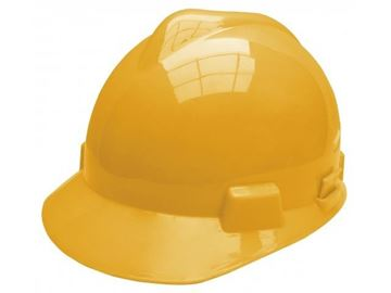 Imagen de Casco de seguridad Ingco amarillo - Ynter Industrial