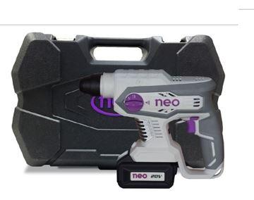 Imagen de Rotomartillo Neo 20v 2 bat 4 Ah brushless RM1022-Ynter Industrial