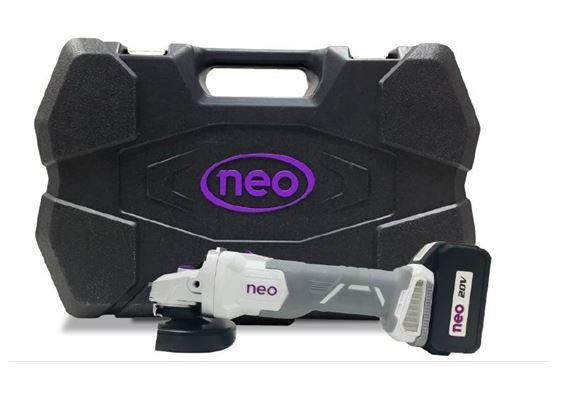 Imagen de Amoladora angular recargable Neo brushless con maletín- Ynter Industrial