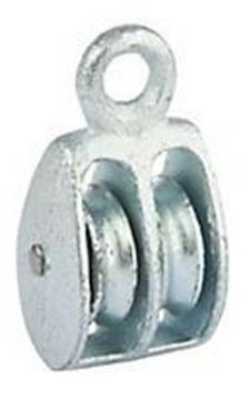 Imagen de Roldana Galvanizada Doble 1 1/2pLG 37,5mm - Ynter Industrial