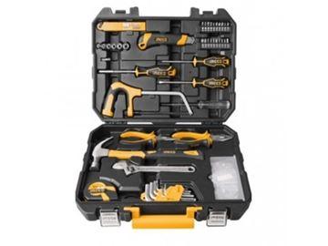 Imagen de Set 117 herramientas combinadas Ingco c/valija plástica - Ynter Industrial