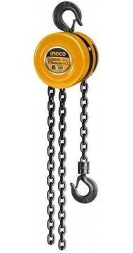 Imagen de Aparejo cadena 1 ton Ingco 3mt  - Ynter Industrial