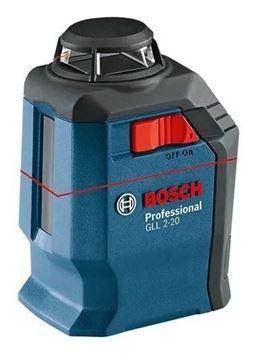 Imagen de Nivel laser 360° Bosch GLL2-20 20mts + Soporte+ Maleta-Ynter Industrial