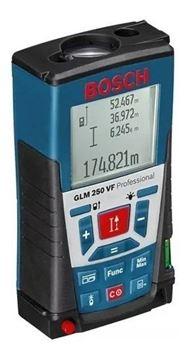 Imagen de Medidor de distancia Laser GLM250VF Bosch Max.250mt - Ynter