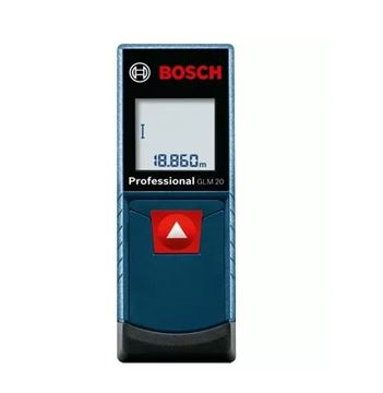 Imagen de Medidor de distancia láser GLM 20 Bosch  max. 20mts- Ynter Industrial