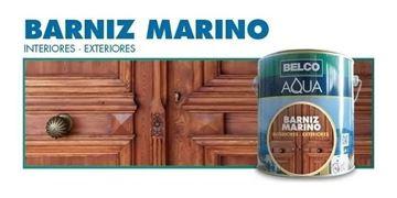 Imagen de Barniz Marino Belco Aqua Interior Exterior 0.25 Lt - Ynter Industrial