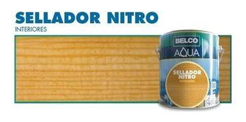 Imagen de Sellador Para Madera Belco Aqua Nitroceluloso 3.6 Lt - Ynter