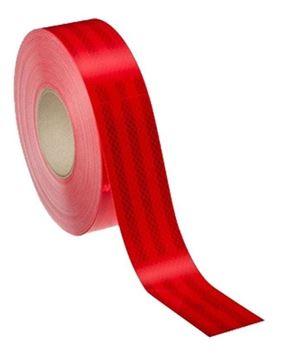 Imagen de Cinta Reflectiva Seguridad 3m Roja 15314 - Ynter Industrial