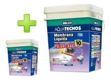 Imagen de Membrana Liquida C/poliuretano Aquatechos Belco 20kg+4kg