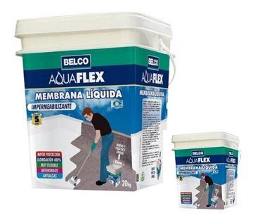 Imagen de Membrana liquida Aquaflex térmica Belco 20kg + 4kg - Ynter Industrial