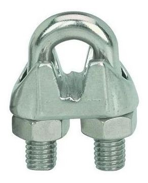 """Imagen de Apreta cables acero inoxidable 3mm 1/8"""" - Ynter Industrial"""