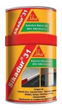 Imagen de Adhesivo epoxi Sika SIKADUR-31 (A+B) 1kg - Ynter Industrial